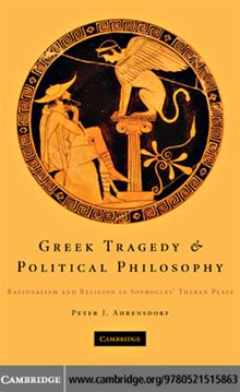 Cambridge University Ebooks Greek Tragedy Political Philosophy PDF eBooks