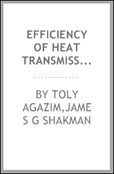 Efficiency of heat transmission in a vacuum evaporator
