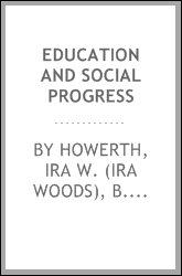 Education and social progress