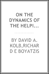 On the dynamics of the helping relationship