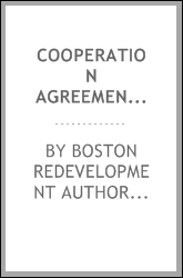 Cooperation agreement for planned development area no. 23