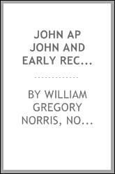 John Ap John and Early Records of Friends in Wales