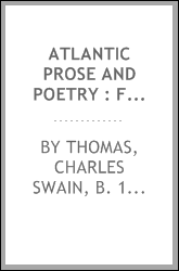 Atlantic prose and poetry : for junior high schools and upper grammar grades