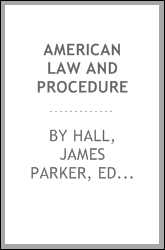 American law and procedure
