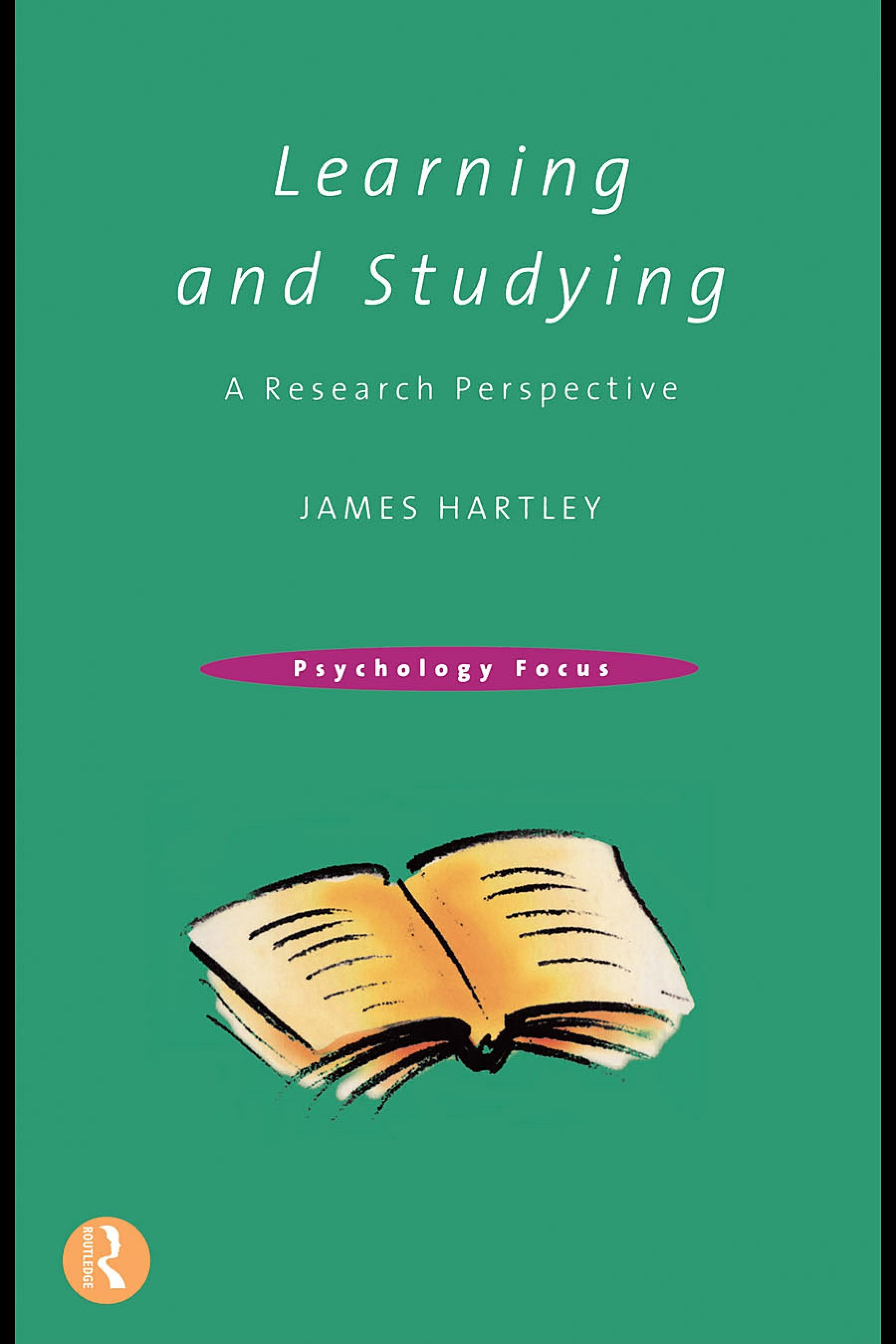Learning and Studying: A Research Perspective