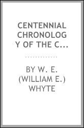 Centennial chronology of the county of Luzerne, 1776-1876