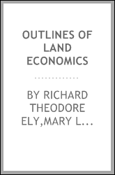 Outlines of land economics