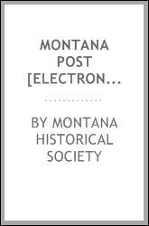download montana post [electronic resource] book