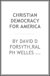 Christian democracy for America