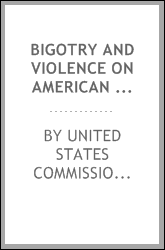 Bigotry and violence on American college campuses