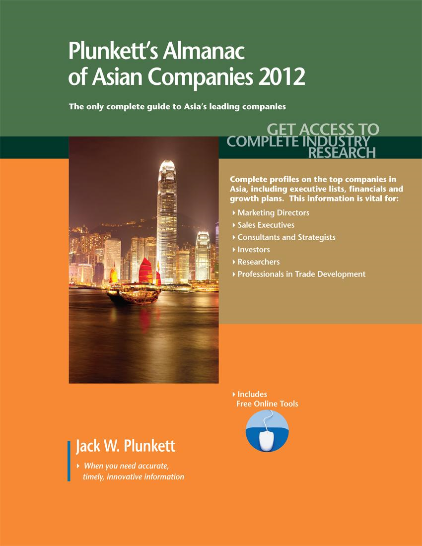 Plunkett's Almanac of Asian Companies 2012