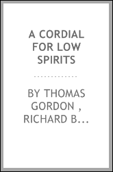 A Cordial for Low Spirits