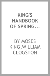 King's handbook of Springfield, Massachusetts : a series of monographs, historical and descriptive