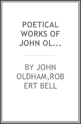 Poetical works of John Oldham