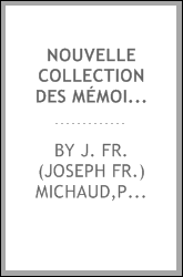 download nouvelle collection des mémoires pour servir &#224