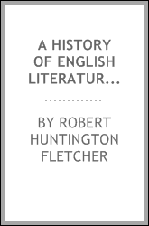 A History of English Literature for Students