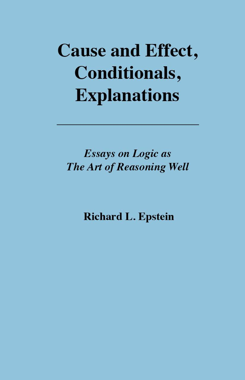 Cause and Effect, Conditionals, Explanations