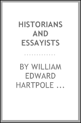 Historians and Essayists