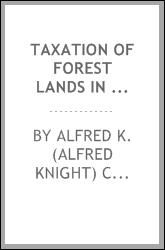 Taxation of forest lands in Wisconsin