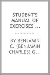 Student's manual of exercises in elementary biology