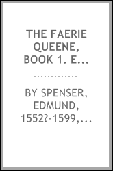 The faerie queene, Book 1. Edited by A.S. Collins