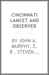 Cincinnati lancet and observer