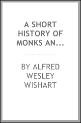 download A short history of monks and monasteries book