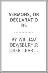 Sermons, or declarations