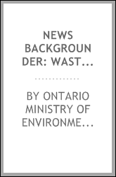 download News Backgrounder: Waste Crisis in the Greater Toronto Area book