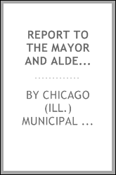 download Report to the mayor and aldermen book