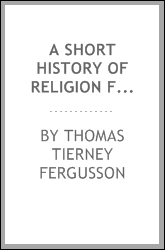 A short history of religion from the creation of the world; with questions for examination