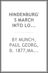 Hindenburg's march into London