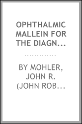 Ophthalmic mallein for the diagnosis of glanders
