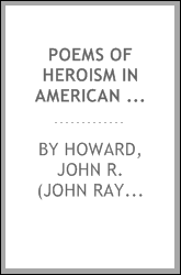 Poems of heroism in American life