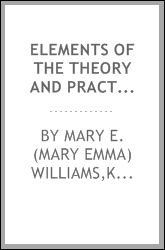 Elements of the theory and practice of cookery : a text-book of household science for use in schools