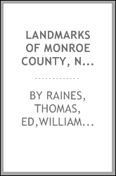Landmarks of Monroe County, New York ..