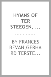 Hymns of Ter Steegen, Suso and others