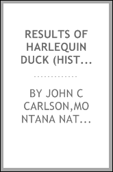 Results of Harlequin duck (Histrionicus histrionicus) surveys in 1990 on the Flathead National Forest, Montana