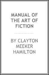 Manual of the Art of Fiction