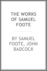 The Works of Samuel Foote