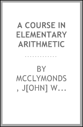 A course in elementary arithmetic