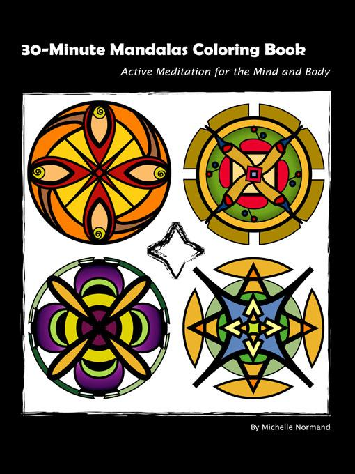 30-Minute Mandalas Coloring Book (E-book)