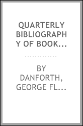 Quarterly bibliography of books reviewed in leading American periodicals