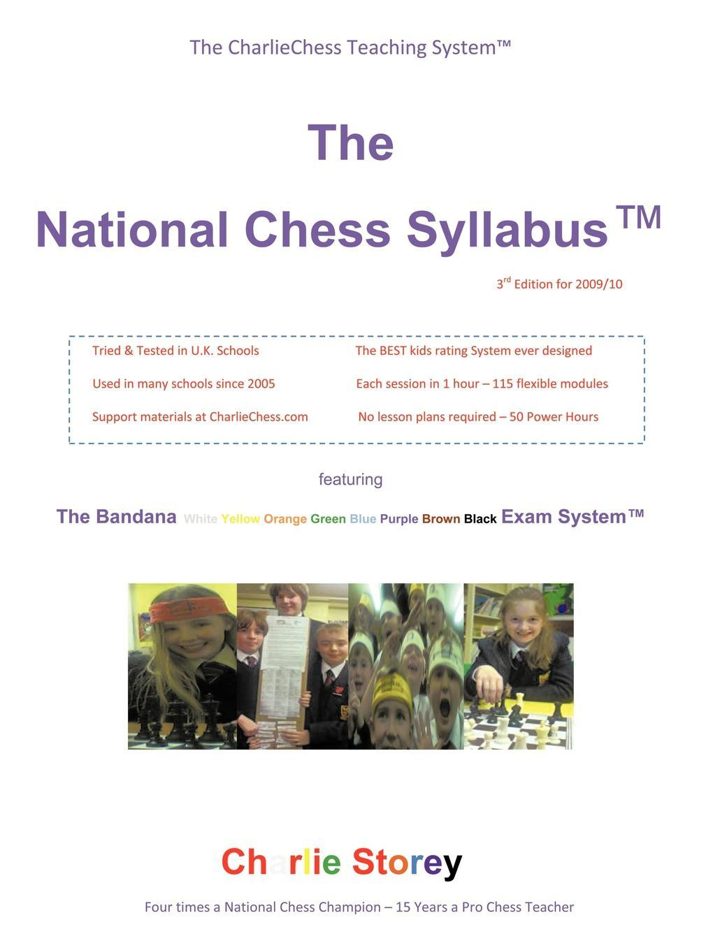 The National Chess Syllabus� featuring the Bandana Martial Art Exam System�