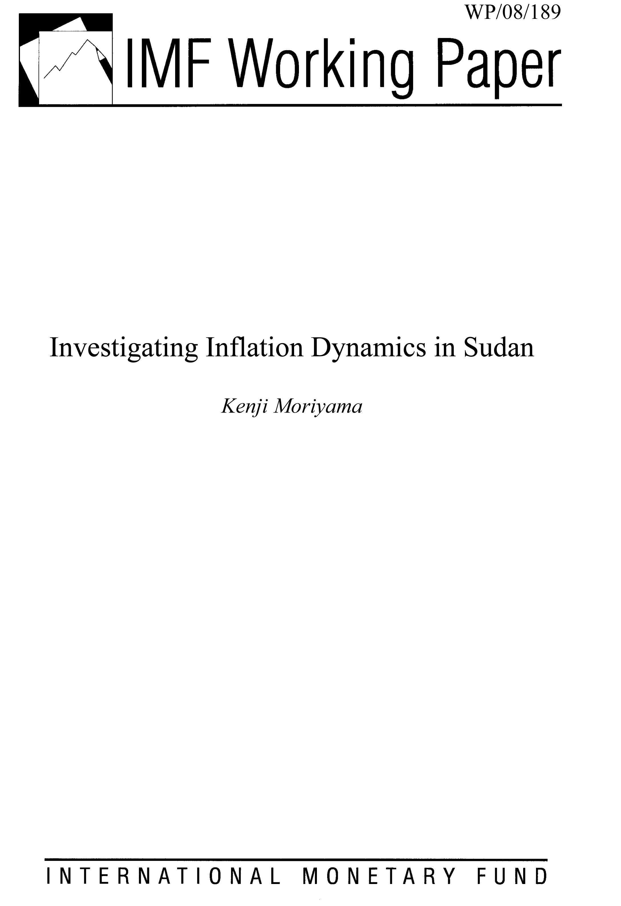 Investigating Inflation Dynamics in Sudan