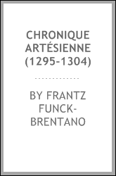 download chronique artésienne (1295-1304)
