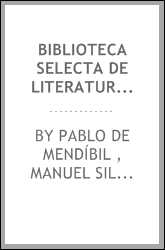 download biblioteca selecta de literatura española: o model