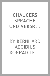 download chaucers sprache und verskunst book