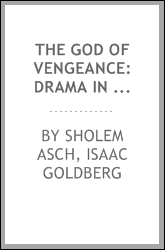 download The God of Vengeance: Drama in Three Acts book