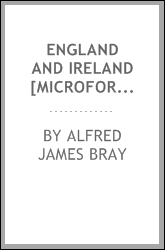 England and Ireland [microform] : a lecture